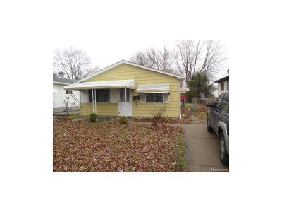Hazel Park Single Family Home For Sale: 1523 E George Avenue