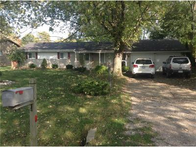 Grosse Ile Twp MI Single Family Home For Sale: $185,000