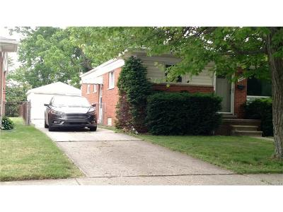 Southgate Single Family Home For Sale: 14202 Mulberry Street