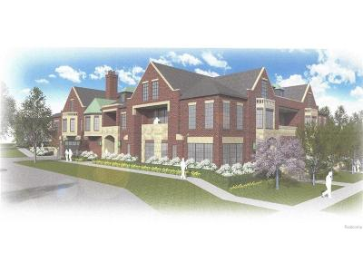Rochester Hills, Rochester Condo/Townhouse For Sale: 1205 N Main Street #3