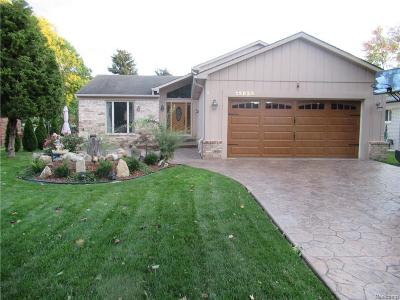 Sterling Heights Single Family Home For Sale: 13820 Brookside Drive