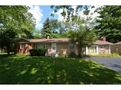 Single Family Home For Sale: 6620 Dandison Boulevard