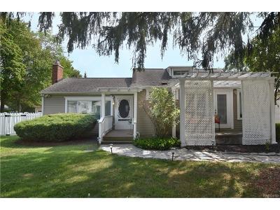 Single Family Home For Sale: 2187 Eastman Boulevard