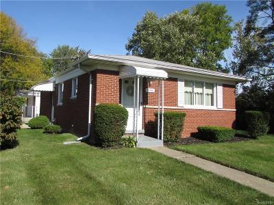 Livonia Single Family Home For Sale: 30340 Joy Road