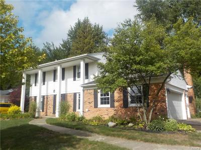 Farmington, Farmington Hills Single Family Home For Sale: 35797 Smithfield Road