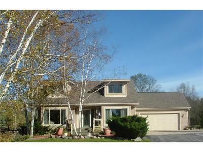Bruce Twp Single Family Home For Sale: 71650 Eldred Road