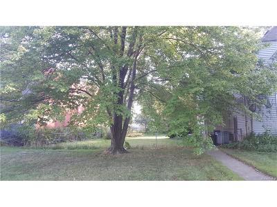 Royal Oak Residential Lots & Land For Sale: Euclid