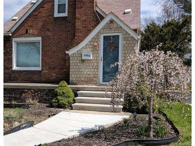 Dearborn Single Family Home For Sale: 5994 Fenton Street