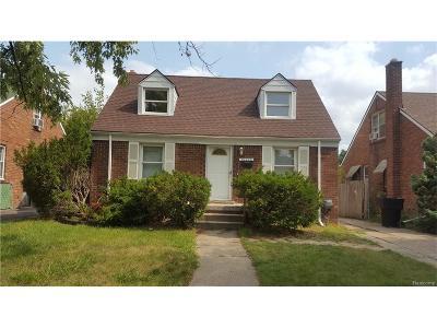 Detroit Single Family Home For Sale: 20490 Hanna Street