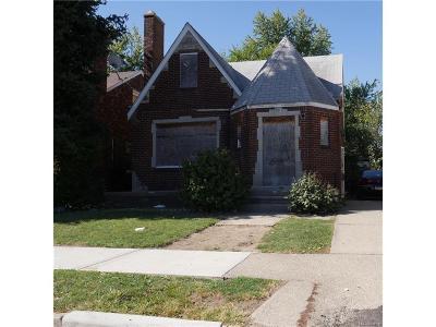 Detroit Single Family Home For Sale: 19177 Stotter Street
