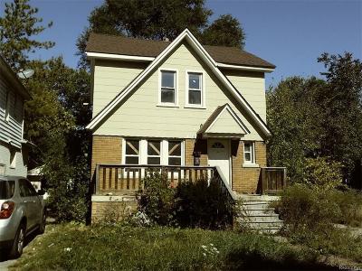 Detroit Single Family Home For Sale: 7561 Giese Street