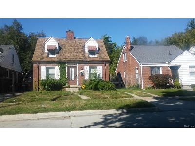Detroit Single Family Home For Sale: 19165 Rutherford Street