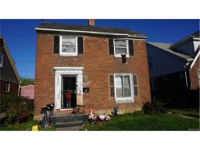 Detroit Single Family Home For Sale: 5542 Manistique Street