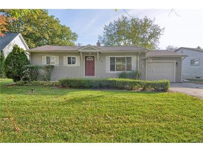 White Lake Single Family Home For Sale: 341 Rustic Circle
