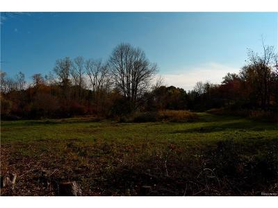 Washington Twp Residential Lots & Land For Sale: Parcel A 31 Mile Road