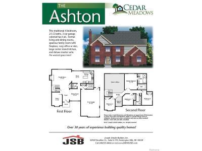 White Lake Single Family Home For Sale: 1283 Cedar Meadows Drive