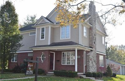 Birmingham Single Family Home For Sale: 2316 Windemere Road