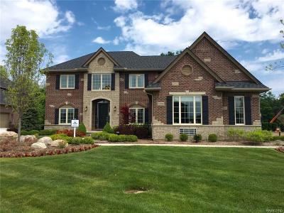 Lyon Twp Single Family Home For Sale: 52044 Pierce Drive