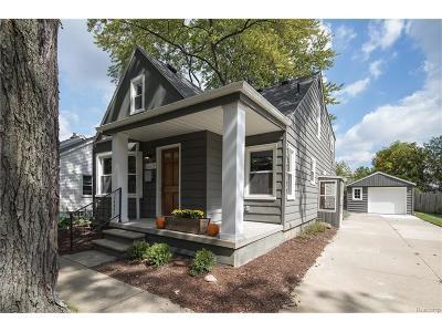 Berkley Single Family Home For Sale: 2428 Phillips Avenue