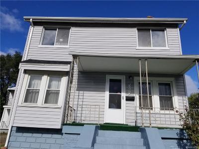 Hamtramck Single Family Home For Sale: 5095 Evaline Street