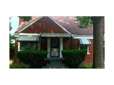 Detroit Single Family Home For Sale: 16249 Mendota Street