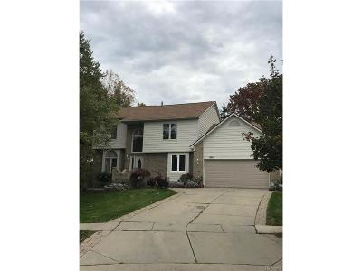 West Bloomfield Twp Single Family Home For Sale: 6012 Jennifer Cres