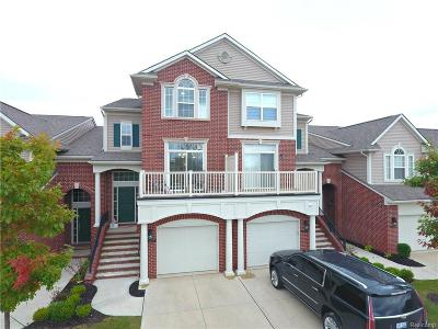 West Bloomfield Condo/Townhouse For Sale: 6615 Berry Creek Lane
