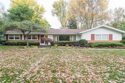 Troy Single Family Home For Sale: 3448 Wendover Road