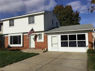 Clawson Single Family Home For Sale: 1450 Dreon Drive