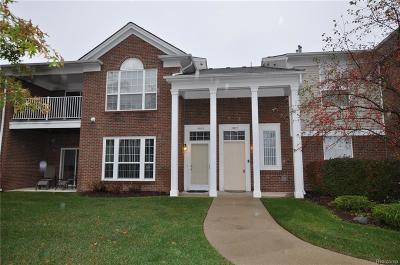 Northville Condo/Townhouse For Sale: 16817 Carriage Way