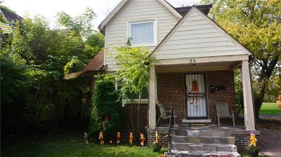Pontiac Single Family Home For Sale: 35 N Shirley Street