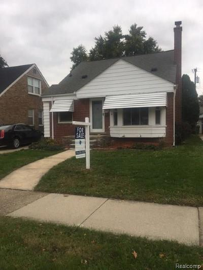 Wayne County Single Family Home For Sale: 6642 Shenandoah Avenue