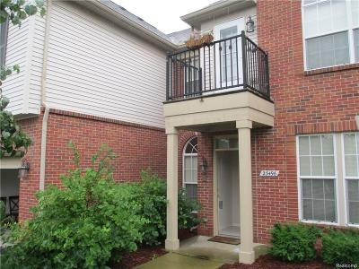 Woodhaven Condo/Townhouse For Sale: 23496 Williamsburg Circle