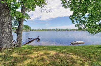 White Lake Single Family Home For Sale: 9492 Round Lake Blvd Boulevard