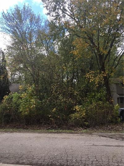 Waterford Twp Residential Lots & Land For Sale: ### Charest