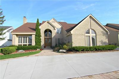 West Bloomfield, West Bloomfield Twp Single Family Home For Sale: 6521 Stonebridge