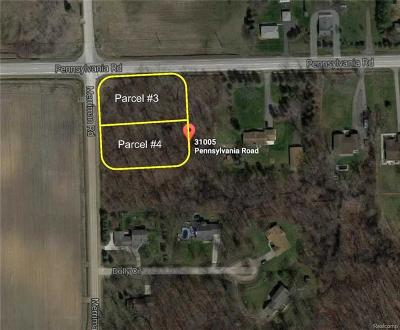 Huron Twp Residential Lots & Land For Sale: 31005 Pennsylvania Road