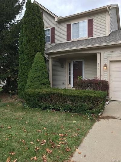 Wixom Single Family Home For Sale: 1504 Pond View Drive