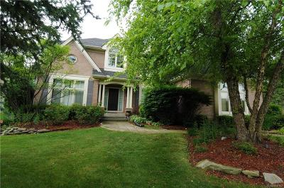 West Bloomfield, West Bloomfield Twp Single Family Home For Sale: 6559 Pembridge Hill