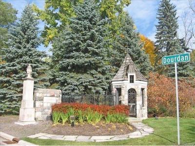 Bloomfield Twp Residential Lots & Land For Sale: 177 Dourdan
