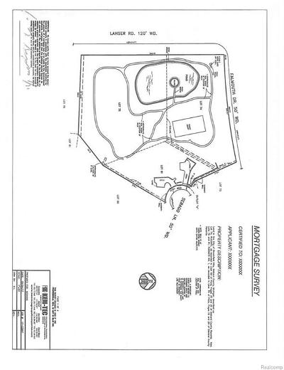 Bloomfield Hills Residential Lots & Land For Sale: 769 Sebago Lane