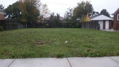 Eastpointe MI Residential Lots & Land For Sale: $3,000