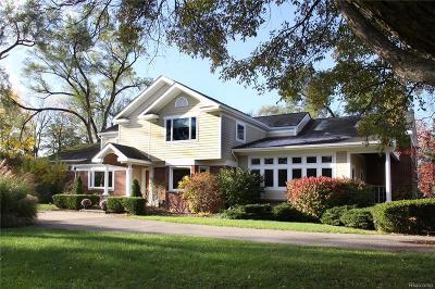 Bingham Farms Vlg Single Family Home For Sale: 32275 Bingham Road