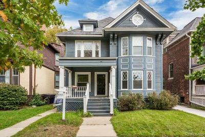 Detroit Multi Family Home For Sale: 702 Van Dyke Street