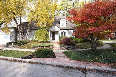 Royal Oak Single Family Home For Sale: 3704 Massoit Road
