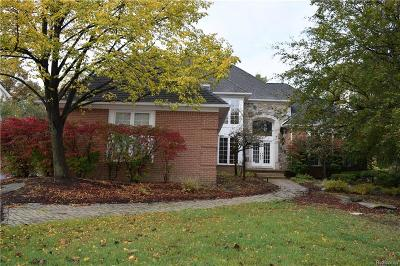 West Bloomfield Twp Single Family Home For Sale: 6682 Torybrooke Circle