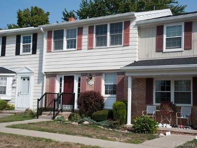 Northville Twp MI Condo/Townhouse For Sale: $156,900