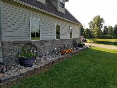 Saint Clair County, St. Clair County Single Family Home For Sale: 5800 Quain Rd.