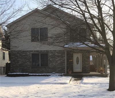 Wyandotte Single Family Home For Sale: 1269 Chestnut Street