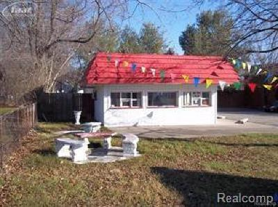 Clarkston, Independence Twp, Springfield Twp Commercial Lease For Lease: 4752 Sashabaw Road